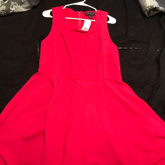 Forever 21 Dresses & Skirts - Hot Pink Dress